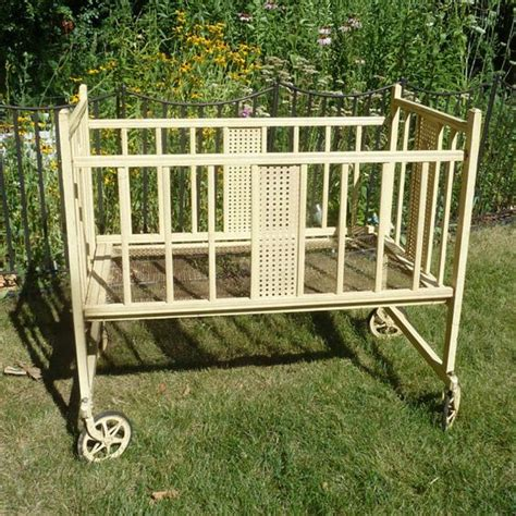 Baby Crib Wheels Antique Baby Crib On Wheels
