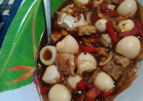 resep telur puyuh lada hitam oleh verial yahya cookpad