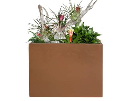 Narrow Plant Pots Amesbury Narrow Rectangular Planter Box