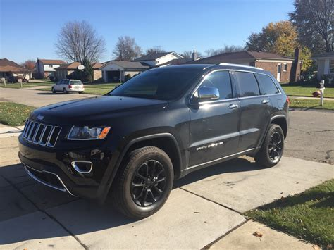 jeep cherokee black with black 2015 jeep grand cherokee rims matte black proplastidip