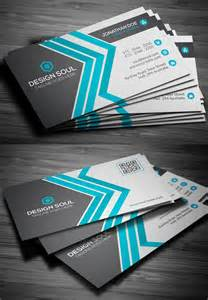 modern business card design templates 25 new modern business card templates print ready design