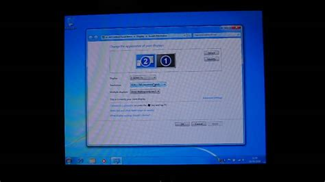 Vga Windows 7 Connecting Your Pc To A Tv Using A Vga Cable Windows 7