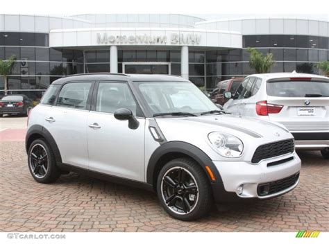 Mini Silver 2012 silver metallic mini cooper s countryman 55846696 gtcarlot car color galleries