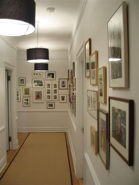 ideas on hanging pictures in hallway 28 best images about gallery hallways on pinterest dark