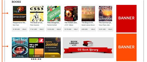 templates for library website amazon digital library website template book library