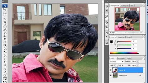 tutorial photoshop cs3 change background how to change background in photoshop cs3 urdu hindi adobe