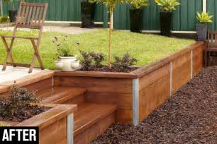 Design For Diy Retaining Wall Ideas Build A Retaining Wall Australian Handyman Magazine