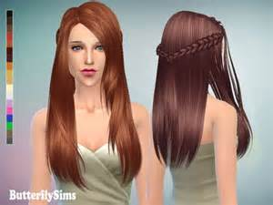 custom content hair butterflysims hairstyle 136 sims 4 downloads
