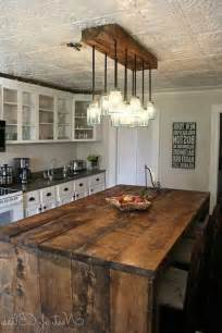 Kitchen Island Fixtures Best 25 Rustic Light Fixtures Ideas On Pinterest