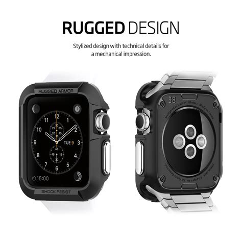 Iwatch Spigen Apple 38mm Silver Best Spigen Armor Cases For Apple For The Best
