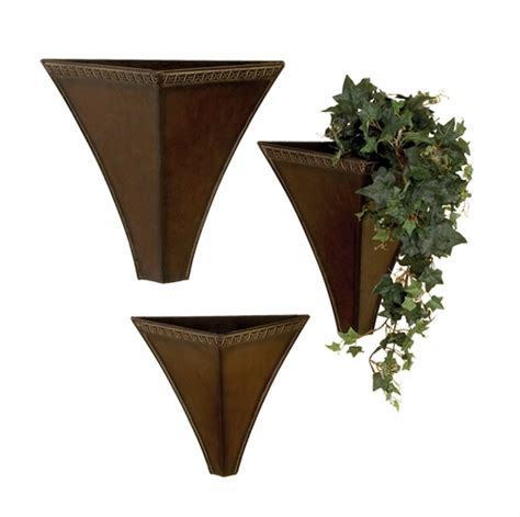 Metal Wall Vases by Metal Wall Vases For Flowers Ktrdecor