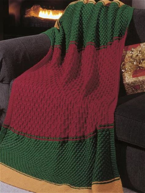 knit an afghan free knitting patterns candlelight