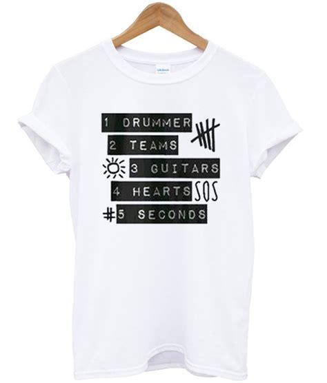 Tshirt 5 Seconds Of Summer 5sos 5 seconds of summer t shirt