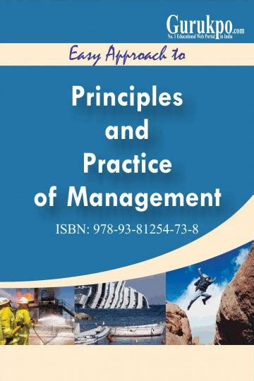Gurukpo Mba Notes by Principles And Practices Of Management Free Study Notes