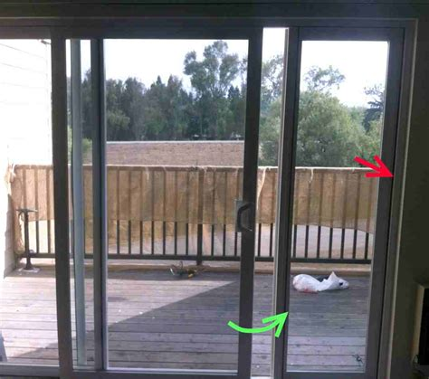 Patio Pet Doors For Sliding Glass Doors Windows How Can I Remove The Side Glass Pane From A Patio Sliding Glass Door Home