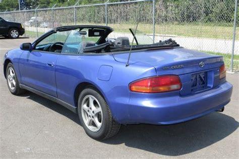 1997 Toyota Celica Convertible Find Used 1997 Toyota Celica Gt Convertible 2 Door 2 2l In