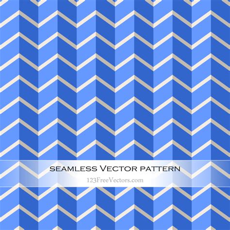 seamless zigzag pattern chevron blue seamless zigzag pattern vector by
