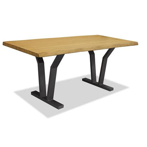 edge dining table dakota live edge dining table