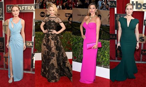 Fashion The Sag Awards Who Looked Great Who Not So Much Second City Style Fashion by Best Looks From The 2016 Sag Awards Sequins Bright
