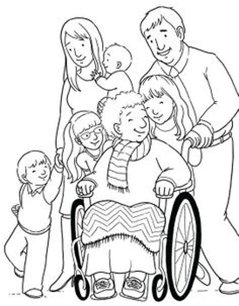 coloring pages of nuclear family i love my whole family lds sunbeams pinterest i