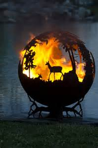 Natural Gas Fire Pit Burner by Up North Fire Pit Sphere The Fire Pit Gallery