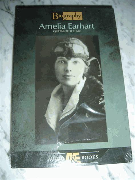 amelia earhart biography in english amelia earhart 1998 unabridged audiobook new
