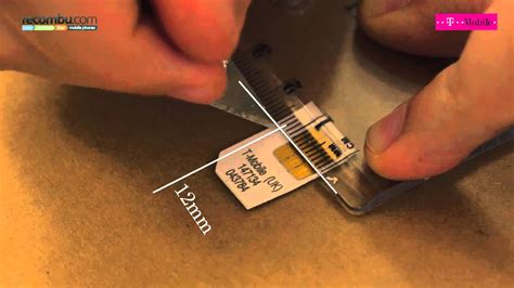 make micro sim card how to make a micro sim card