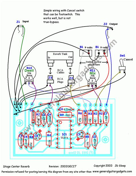 stage center reverb schematic simple reverb schematic simple free engine image for