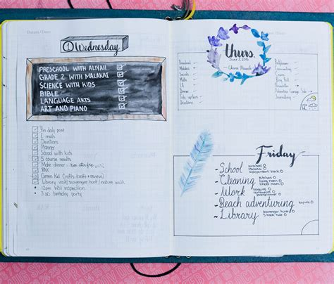 bullet journal ideas daily weekly and monthly bullet journal layout exles
