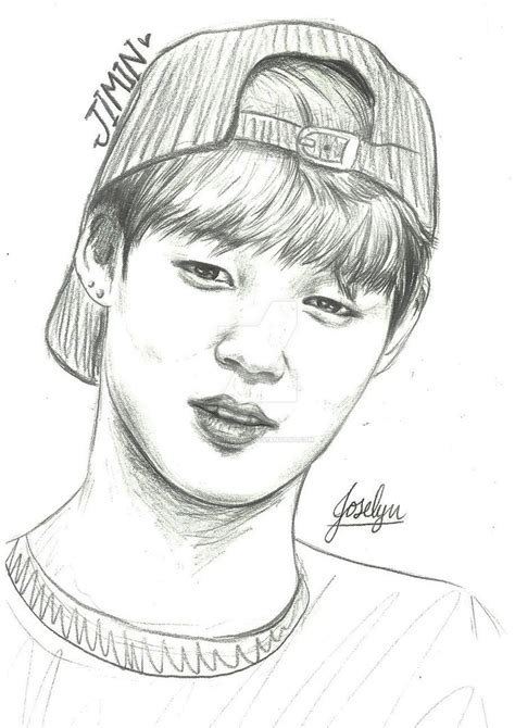 V Drawing Jimin by Jimin By Joshiiblack On Deviantart