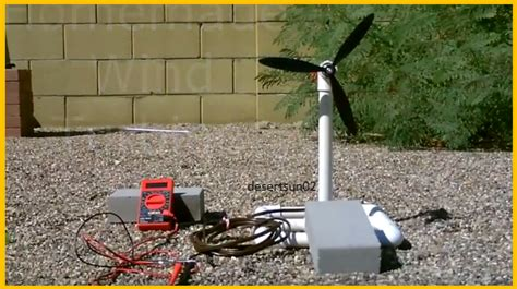 get the grid with this diy wind turbine