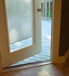 Door Glass Blinds Odl Light Touch 174 Cordless Enclosed Blinds Photo Gallery