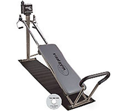 total gym elite  flexibility bar dip barsvideo mat
