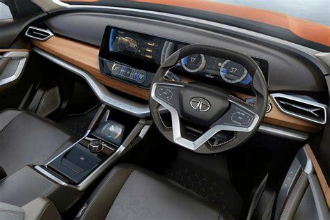 tata hx concept interior dashboard  autobics