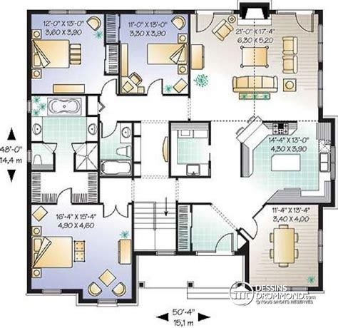 Grimmauld Place Floor Plan plan maison americaine plain pied