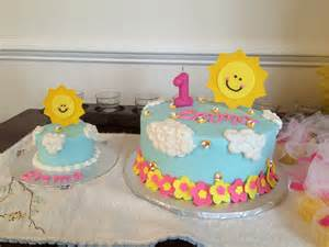 Simple Home Decoration For Birthday you are my sunshine cake one mom amp a mixer