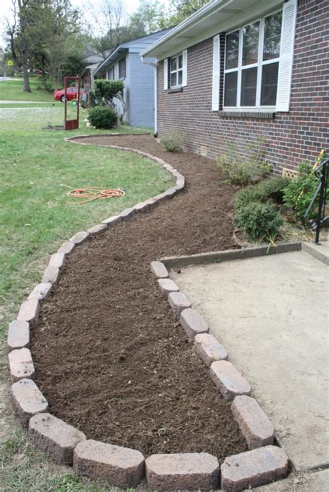 flower bed front yard dyi flower bed definitely need to do this in the front