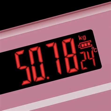 Timbangan Berat Badan Pada Umumnya timbangan badan digital dengan indikator suhu taffware