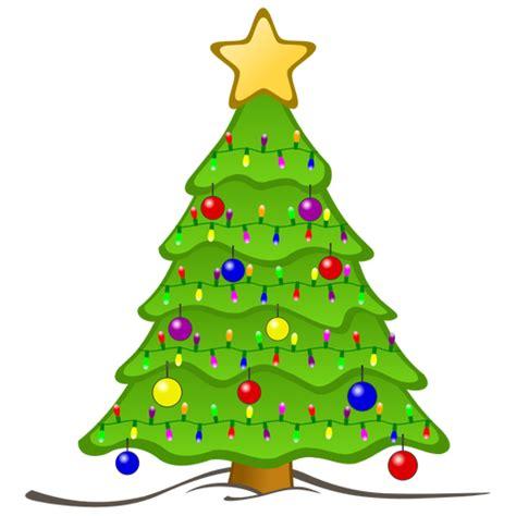 weihnachtsbaum mit kugeln clipart 9