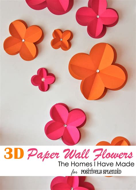 How To Make 3d Flowers Out Of Construction Paper - how to make a 3d flower out of construction paper 28