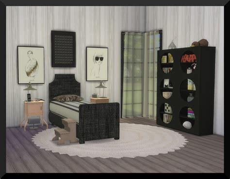 olivia bedroom set my sims 4 blog olivia teen bedroom set by ksimbleton