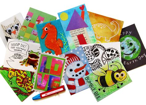 Gift Card Trading - artist trading cards creativity connection