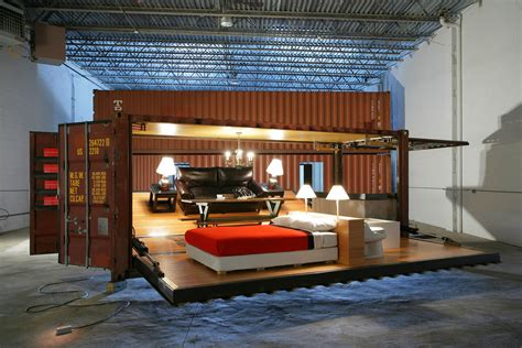 Container Home Interior Design by Illy Shipping Container Push Button House