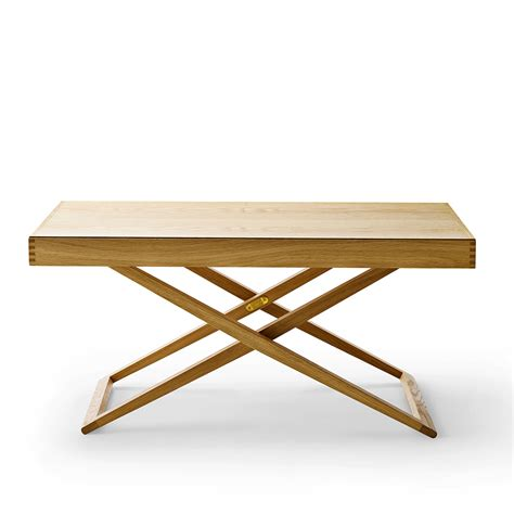 Folding Coffee Table Uk Buy The Carl Hansen Mk98860 Folding Table Utility Design Uk
