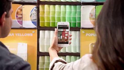 home depot paint app commercial the home depot app tv spot paleta de colores