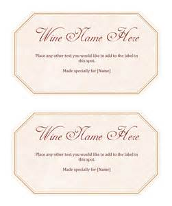 create your own label template wine label template make your own wine labels