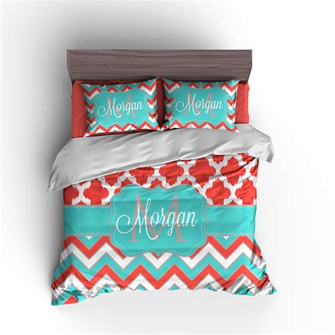 teen girls personalized bedding set duvet set teen