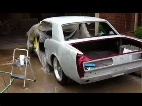 how to paint a car yourself on your driveway at home