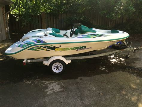 sea doo boat engine for sale 99 00 seadoo challenger twin engine jetboat 1999 for