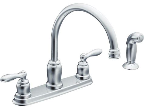 moen caldwell kitchen faucet moen inc moen caldwell handle kitchen faucet with
